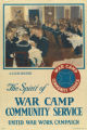 The spirit of war camp community service - A club dinner