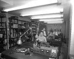 Paxton Typewriter Company employees repairing typewriters, March 2, 1959